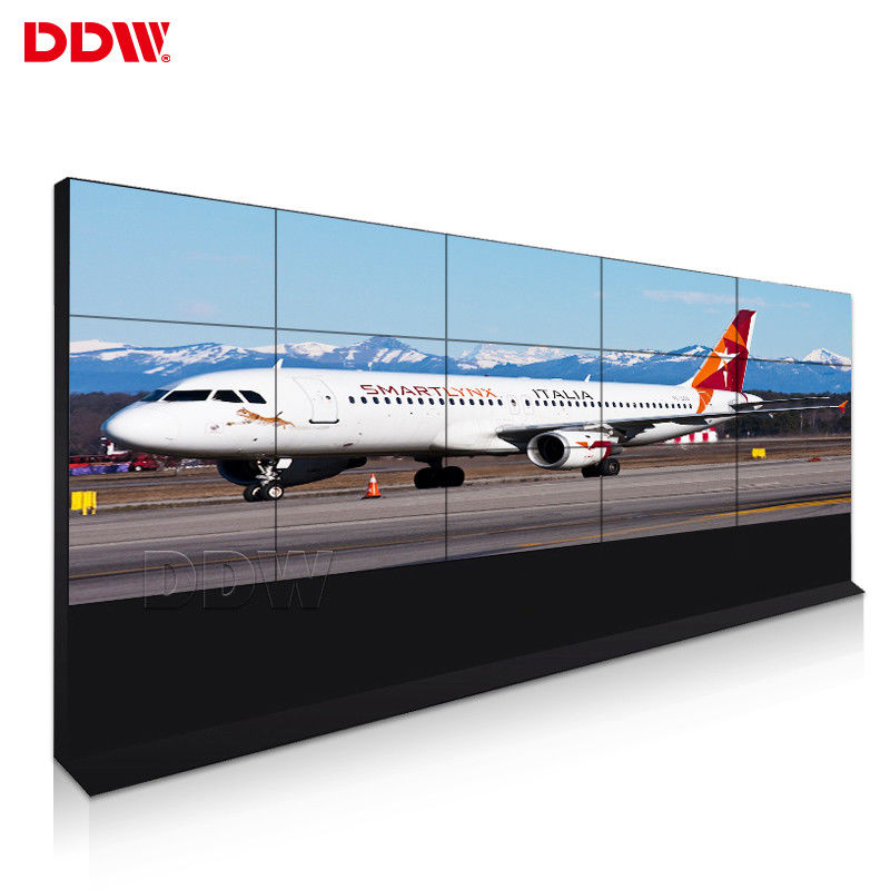 High Brightness CCTV Video Wall 55 Inch Easy Installation With Multi Interface