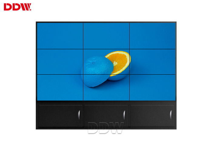 Huge LCD Video Wall Display , Touch Screen Interactive Wall Display